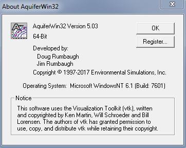 نرم افزار ESI AquiferWin32 v 5.03 , تجزیه و تحلیل آزمون آبخوان