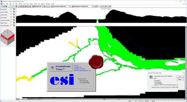 نرم افزار ESI Groundwater Vistas Premium v 7.08 x 64 , مدل سازی آب های زیرزمینی