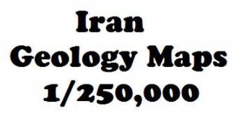دانلود مجموعه نقشه های مناطق زمین شناسی ایران درمقیاس 250,000